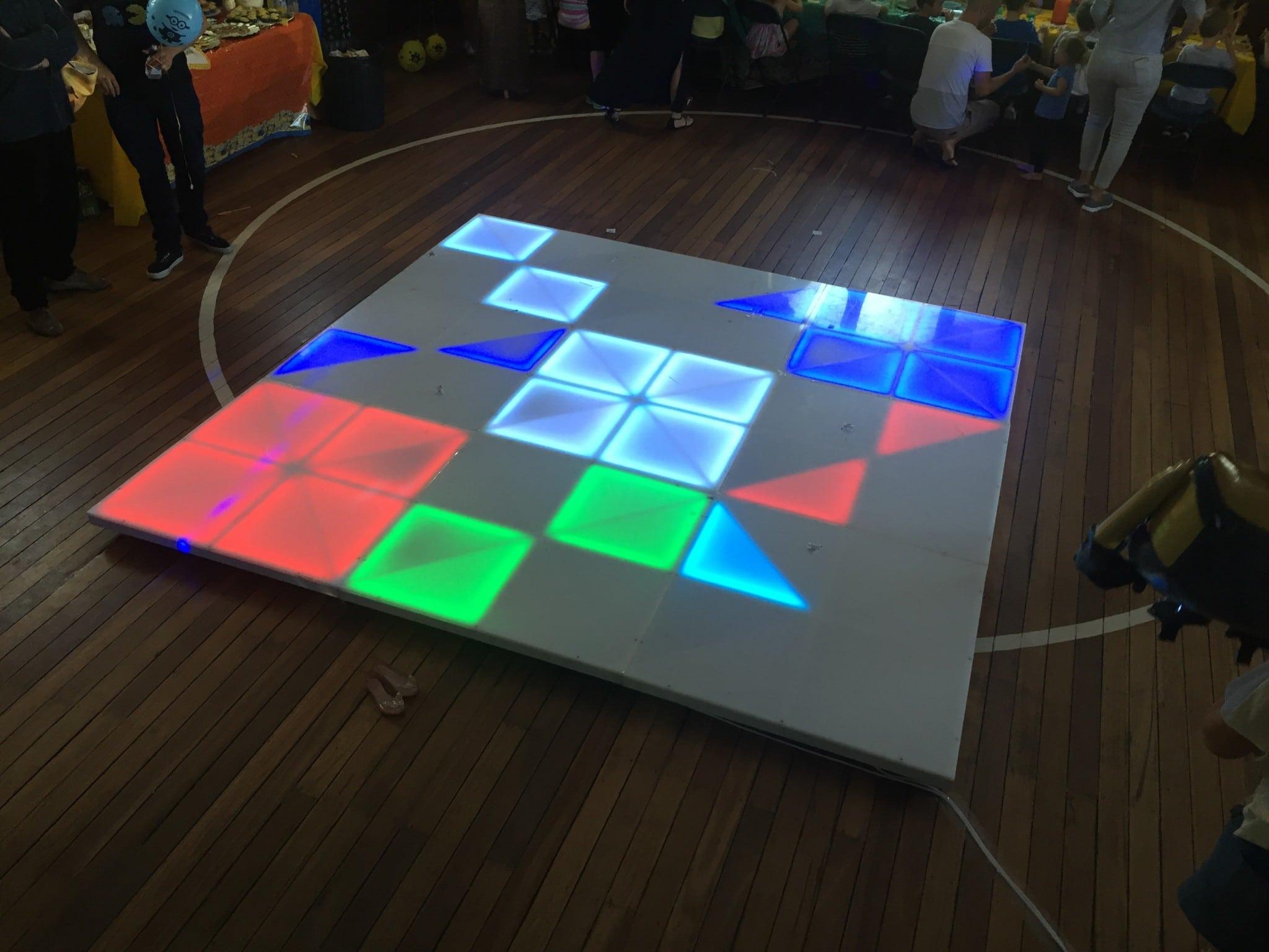 Light Up Dance Floor Sydney Bop Till You Drop