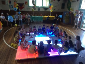 Light-up dance floor kdis disco birthday party