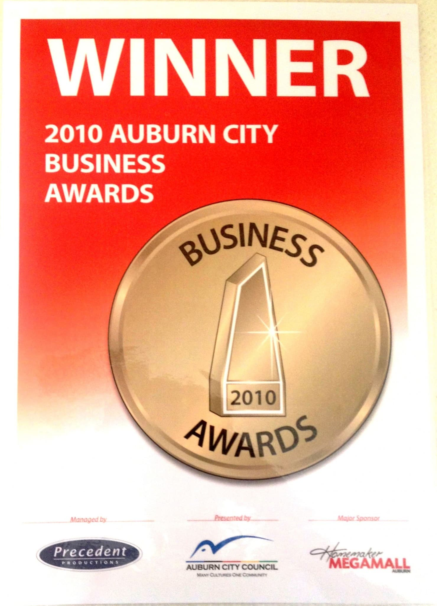 Local Business Award - 2010