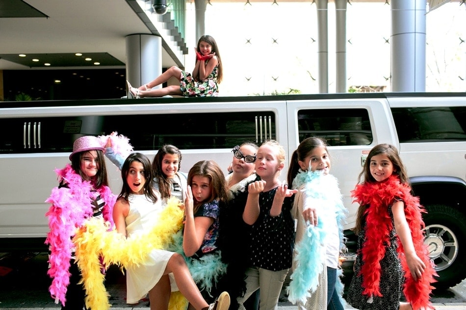 Stretch Hummer Disco Party For Kids