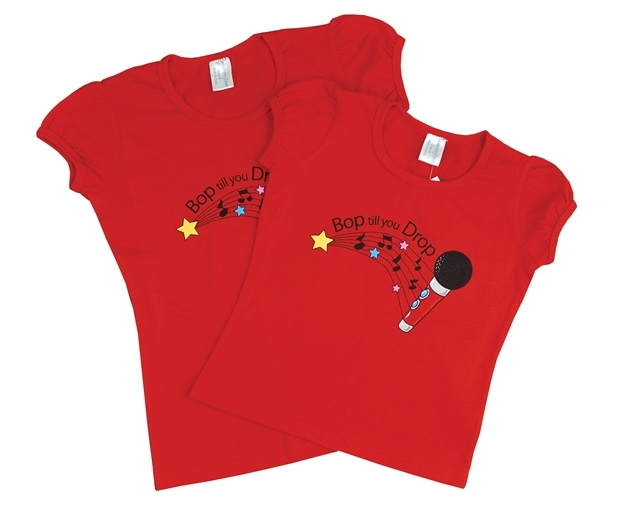 t-shirt disco kids party