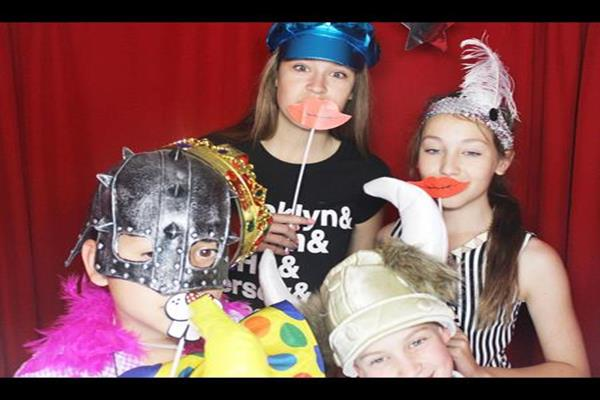 1 Photo Booth Disco Party