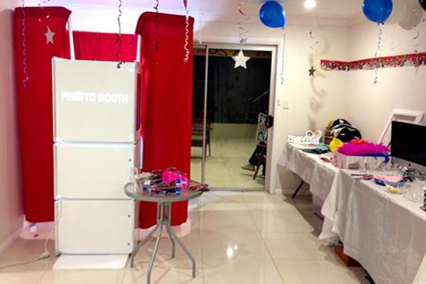1 Photo Booth for children's parties