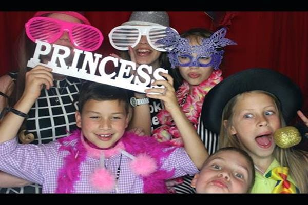 1. Photo Booth Disco Parties for kids