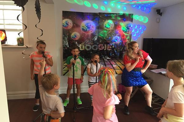 Karaoke party for children  (2)