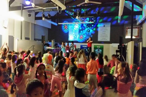 Kids Dance Disco at a School  (1)