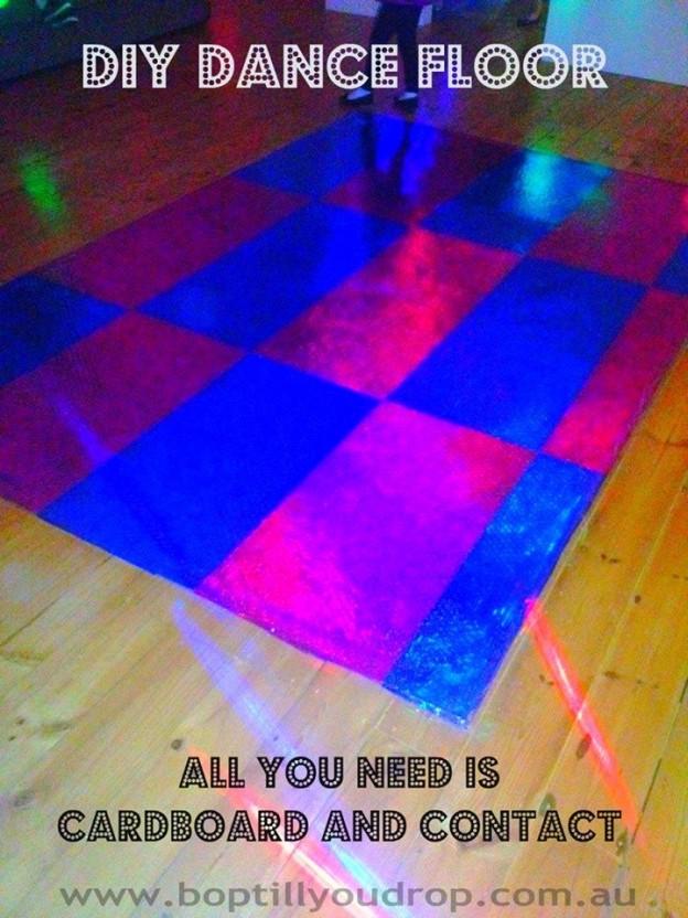 Diy Disco Party Decorations