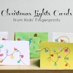 Christmas Lights Cards