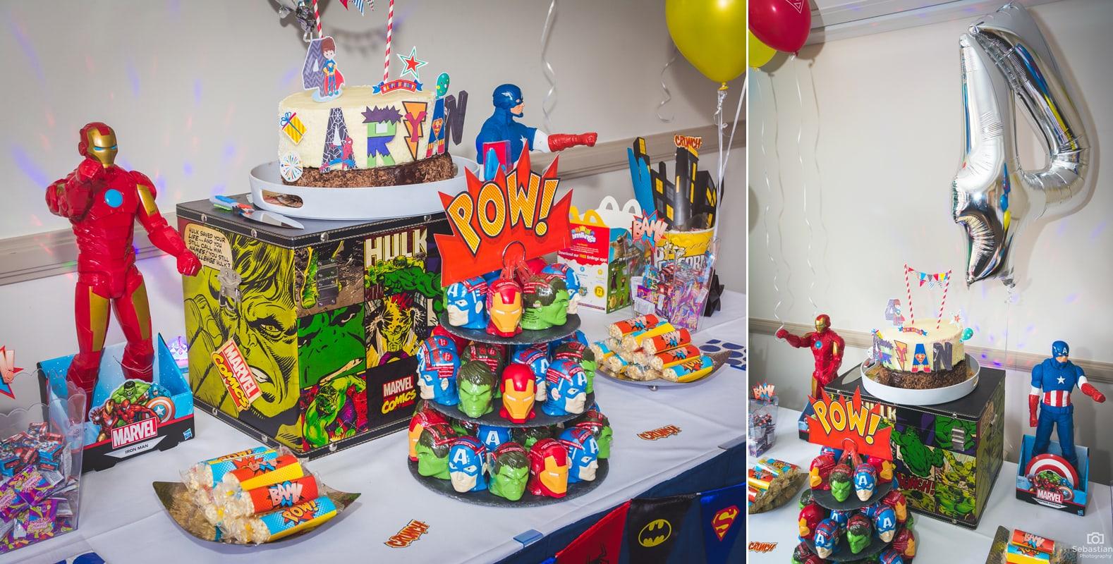 Superhero Theme Party Bop Till You Drop
