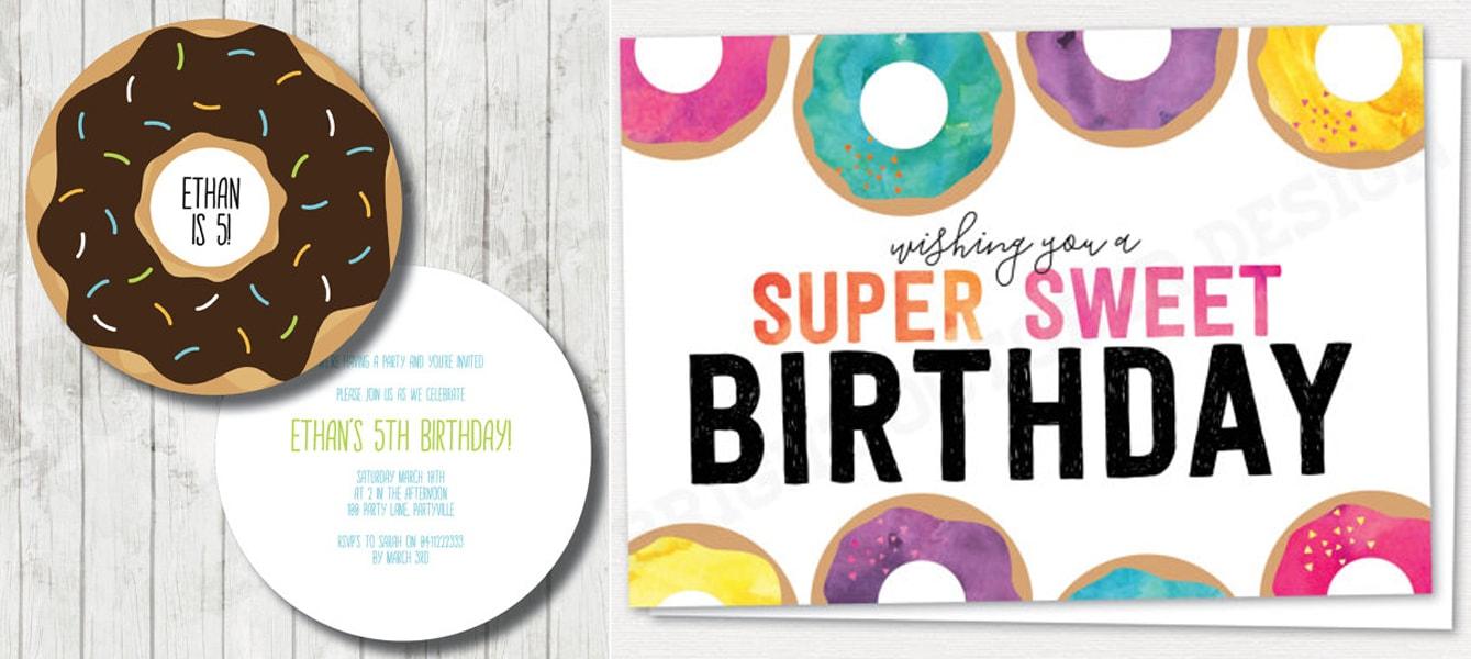 Doughnut themed party ideas