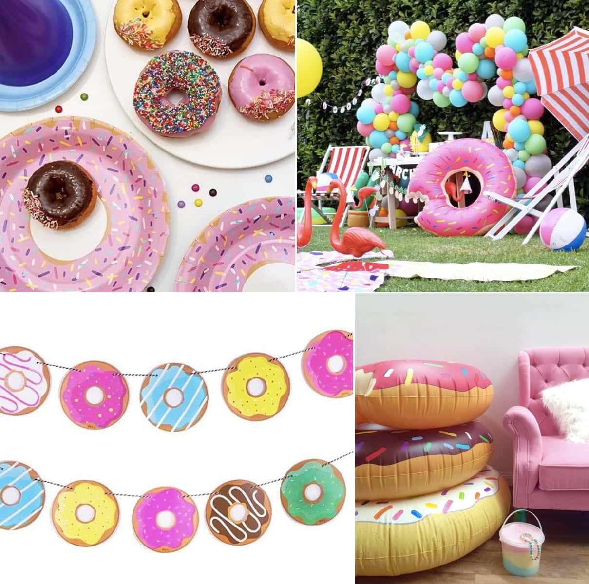 doughnut theme party ideas