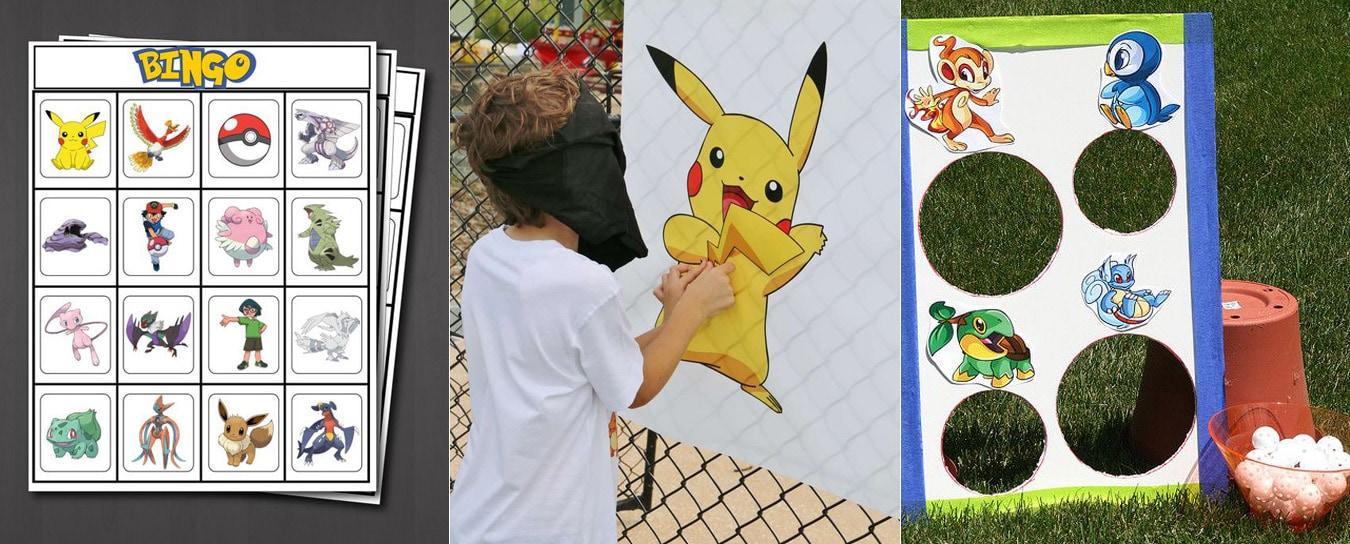 pokemon theme party ideas