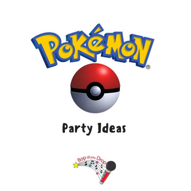 pokemon themed party ideas