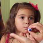 Taking your child's temperature