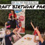Craft Birthday Party Ideas