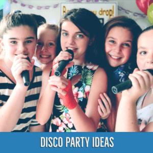 Disco Birthday Party Ideas   Bop Till You Drop
